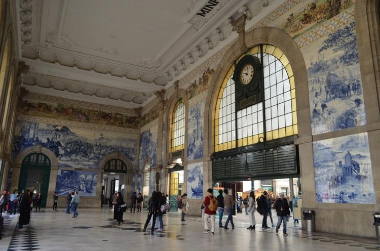 Interno Stazione di São Bento - Porto