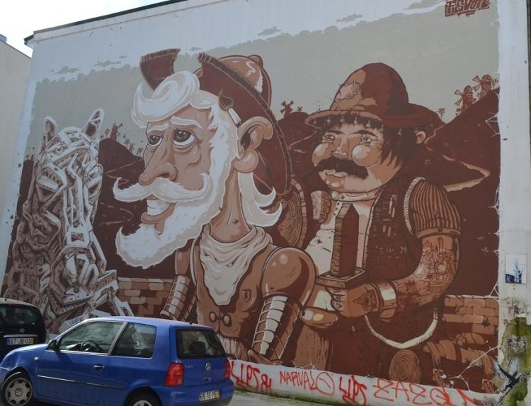 Murales nel quartiere Cedofeita - Porto