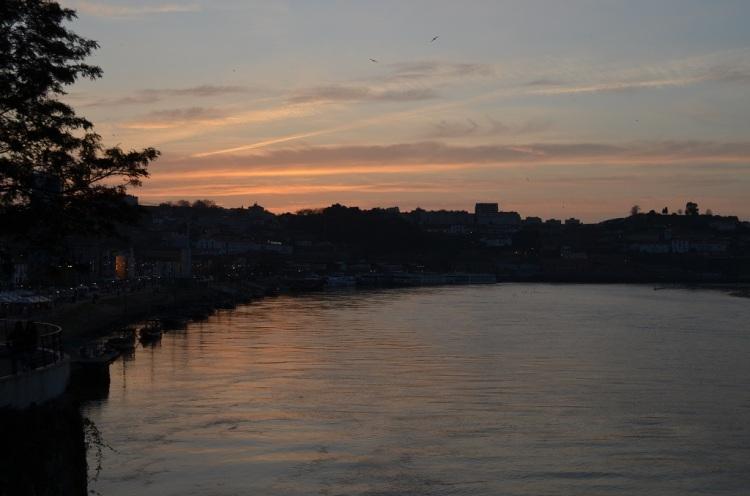 Tramonto sul fiume Douro - Porto