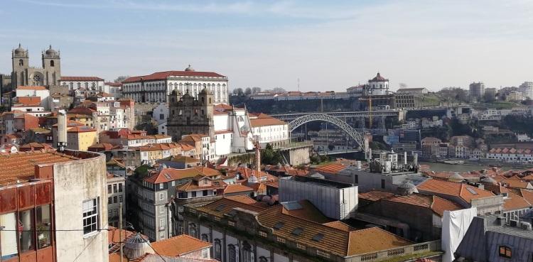 Panorama dal Miraduoro da Vitória - Porto