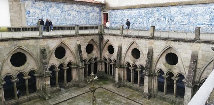 Chiostro della Cattedrale Sé - Porto