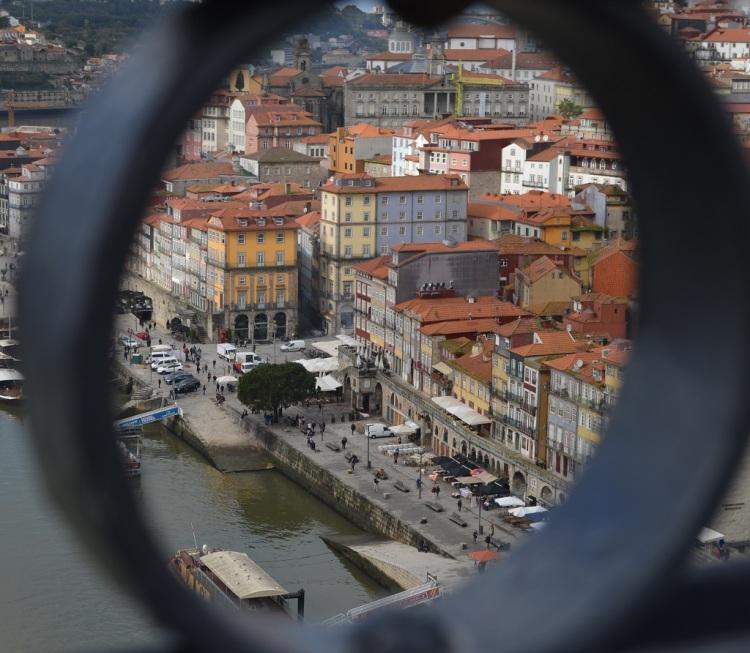 Reibera vista dal Ponte de Dom Luís I - Porto