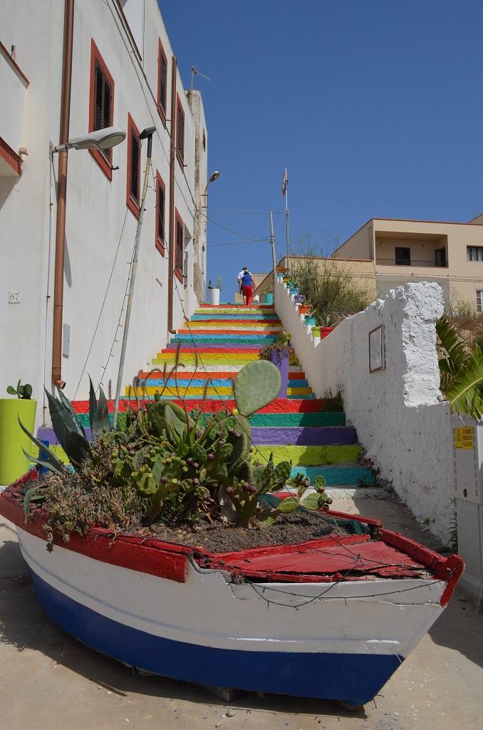 Scalinata - Lampedusa