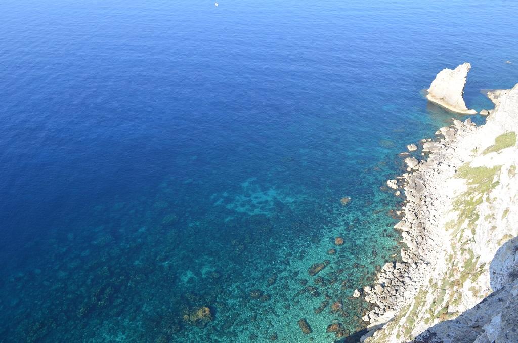 Scoglio a vela - Lampedusa