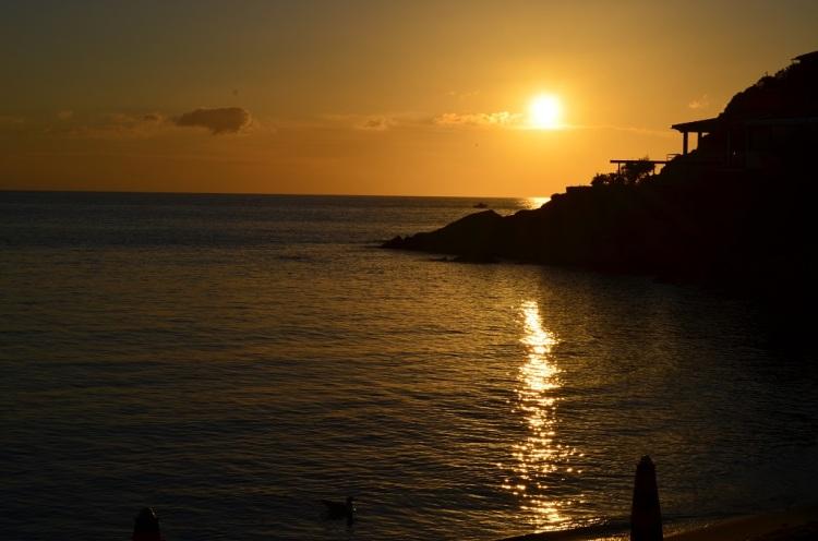 tramonto a Scaglieri
