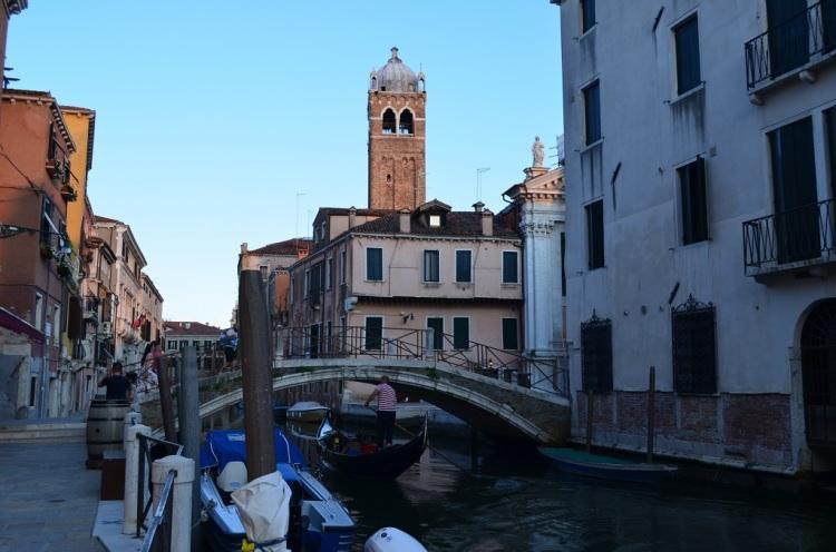 Canali e gondole a Venezia