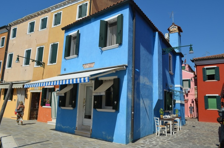 Le case colorate di Burano
