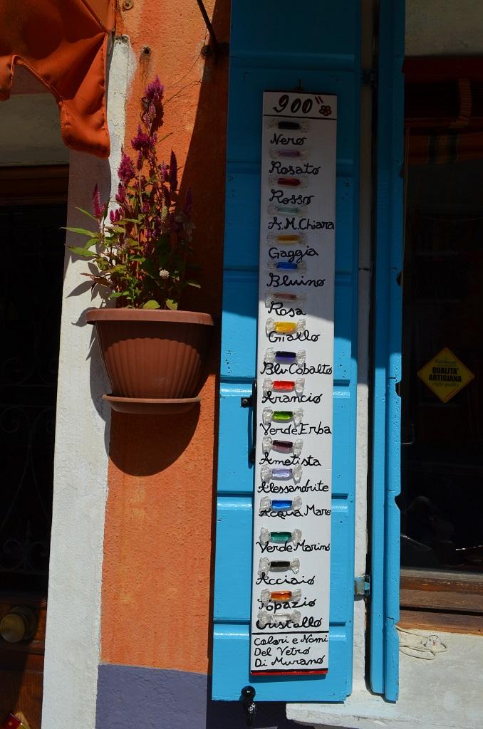 i colori delle case di Burano